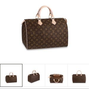 Louis Vuitton monogram Speedy 35 GUC!